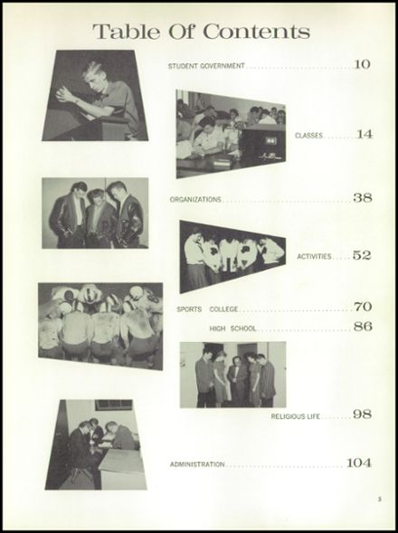 1960 Los Angeles Pacific High School Yearbook Page 9