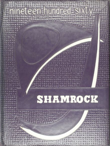 1960 Dublin High School Yearbook Cover