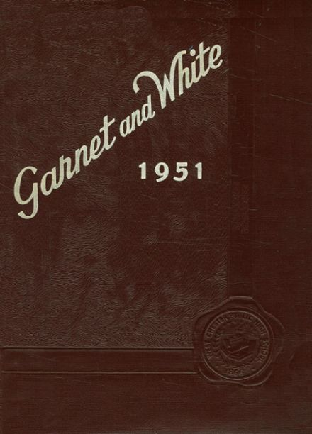 1951 West Chester High School Yearbook Cover