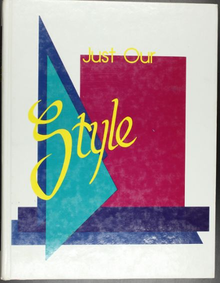 1988 Essex Junction High School Yearbook Cover