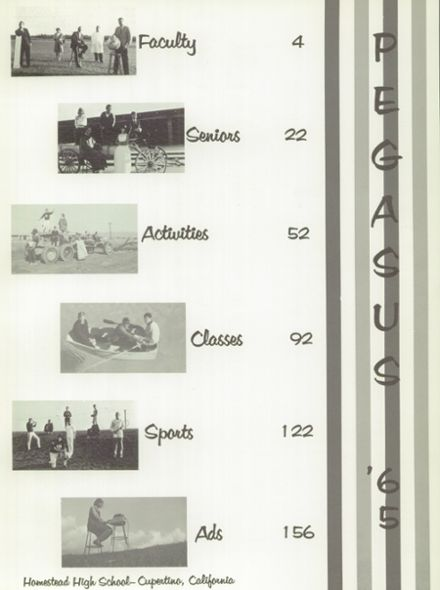 1965 Homestead High School Yearbook Page 5