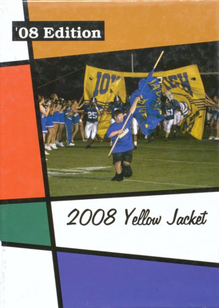 2008 Iowa High School Yearbook Cover