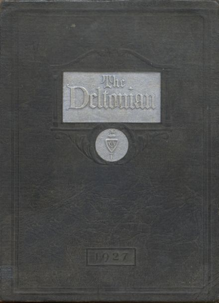 1927 Greenwood High School Yearbook Cover