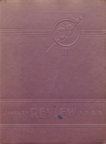 1939 Marshall High School Yearbook Cover