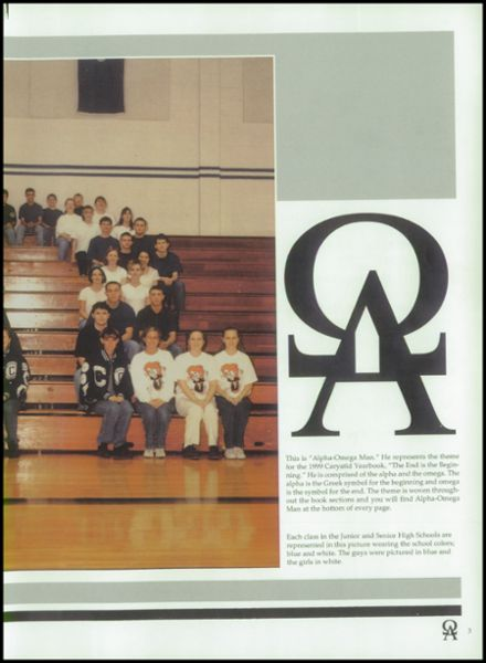 1999 Carey High School Yearbook Page 7