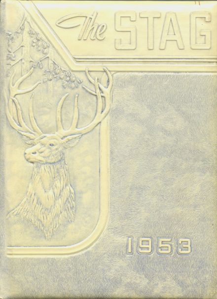 1953 St. Agnes Academy Yearbook Cover