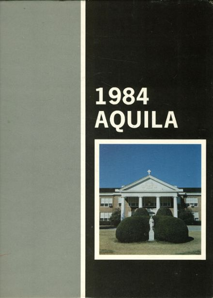 1984 St. Agnes Academy Yearbook Cover