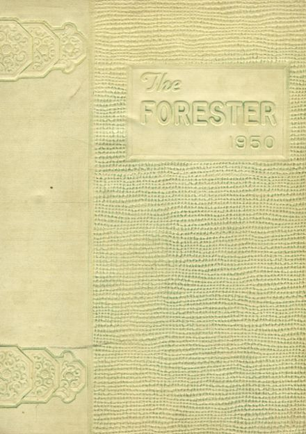 1950 Forest Avenue High School Yearbook Cover