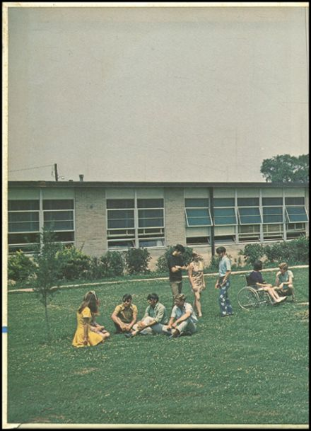 1971 Holly Ridge High School Yearbook Page 2