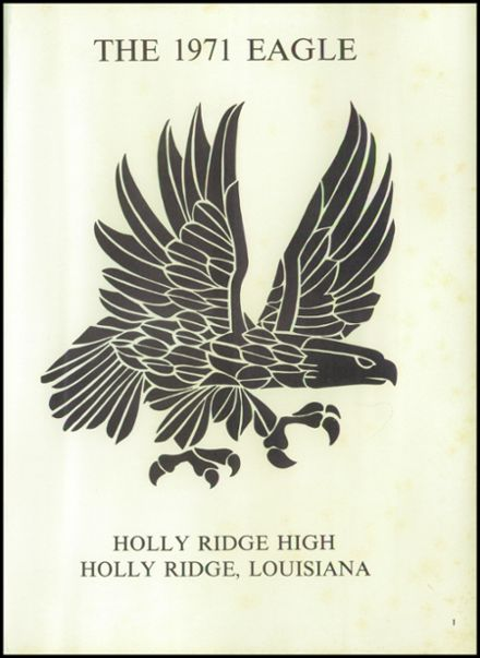 1971 Holly Ridge High School Yearbook Page 5