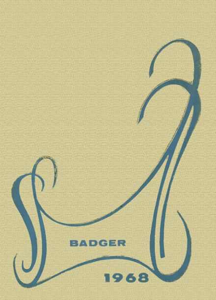 1968 Bodcaw High School Yearbook Cover
