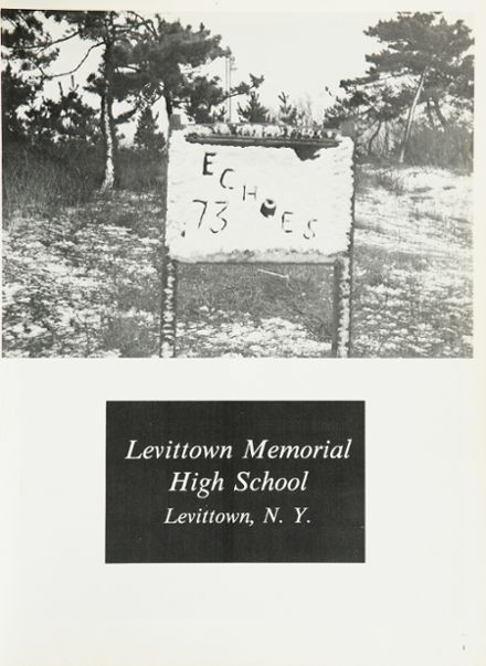 1973 Levittown Memorial High School Yearbook Page 5