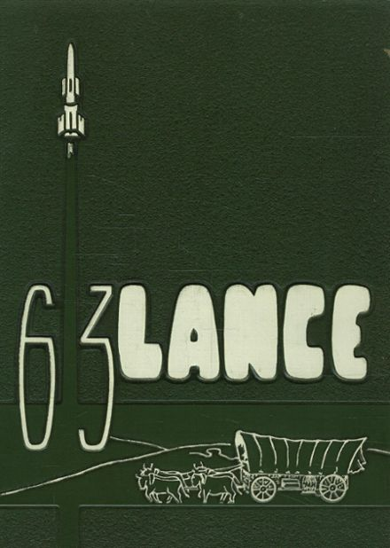 1963 Lutheran South High School Yearbook Cover