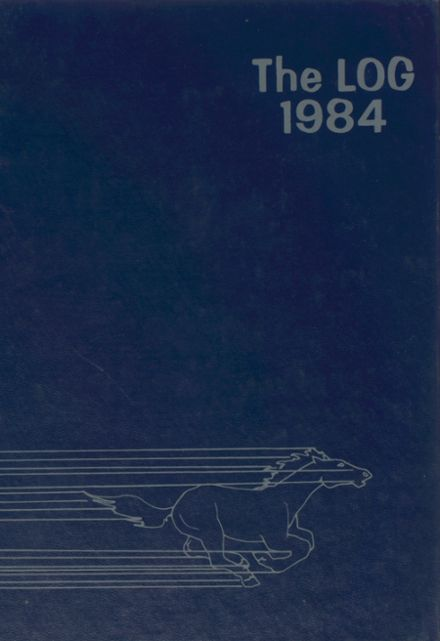 1984 Centerville Christian Academy Center Yearbook Cover