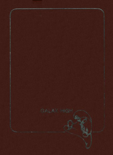 1980 Galax High School Yearbook Cover