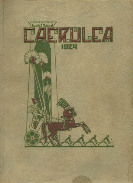 1924 Long Beach Polytechnic High School Yearbook Cover