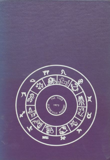 1972 Centreville High School Yearbook Cover