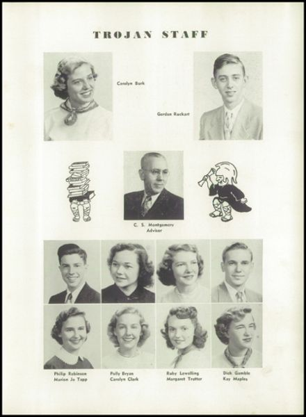 1951 Knoxville High School Yearbook Page 7