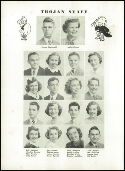 1951 Knoxville High School Yearbook Page 8