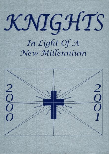 2001 Hill Country Christian School Yearbook Cover