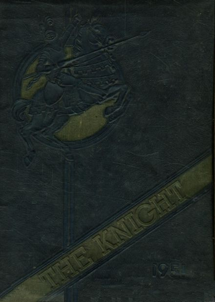 1951 Collingswood High School Yearbook Cover