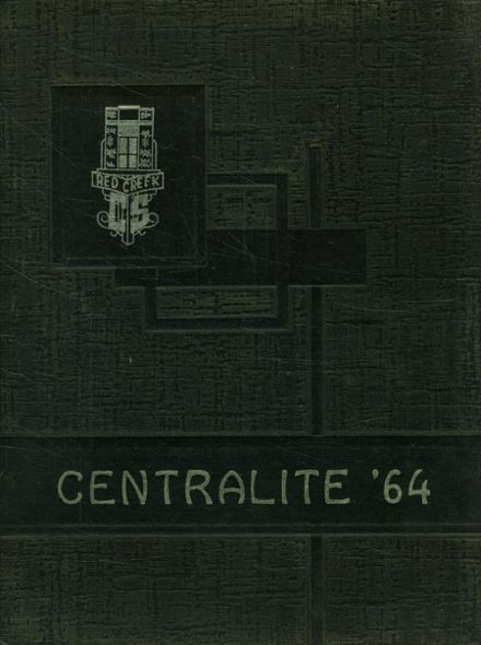 1964 Red Creek Central High School Yearbook Cover
