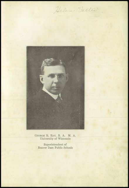 1922 Beaver Dam High School Yearbook Page 5