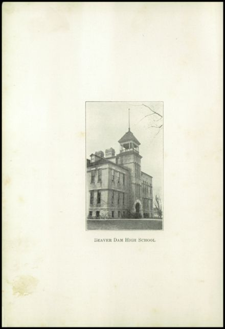 1922 Beaver Dam High School Yearbook Page 6