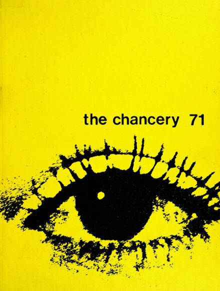 1971 Chatsworth High School Yearbook Cover