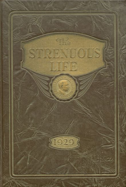 1929 Roosevelt High School Yearbook Cover