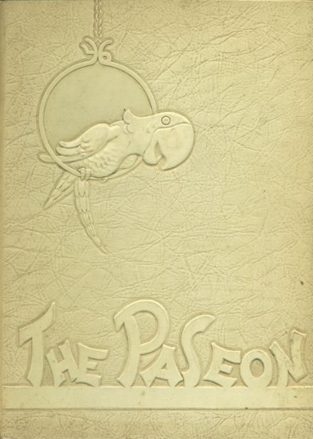 1946 Paseo High School Yearbook Cover