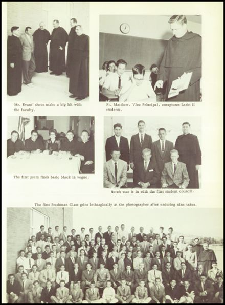 1973 Crespi Carmelite High School Yearbook Page 7
