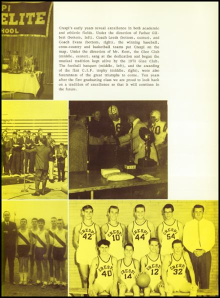 1973 Crespi Carmelite High School Yearbook Page 9