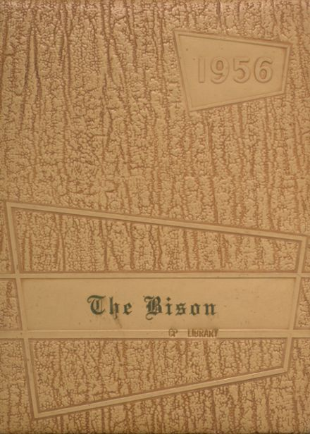 1956 Cross Plains High School Yearbook Cover