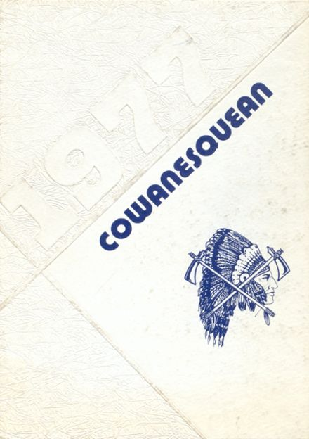 1977 Cowanesque Valley High School Yearbook Cover