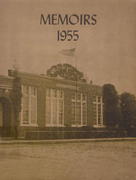 1955 Jackson Township High School Yearbook Cover