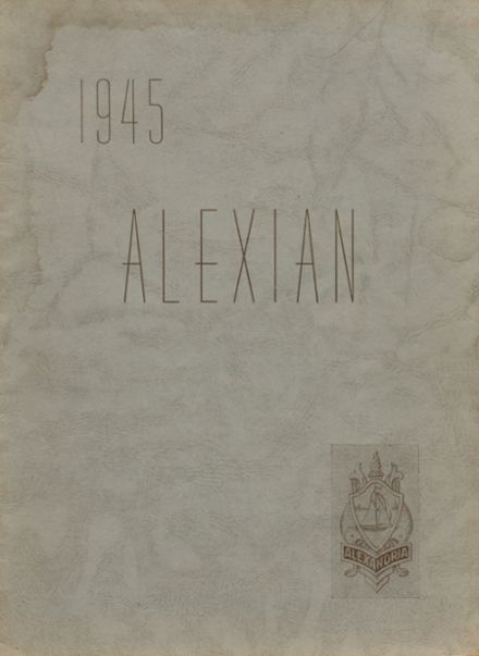 1945 Central High School Yearbook Cover
