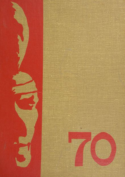 1970 Grover Cleveland High School Yearbook