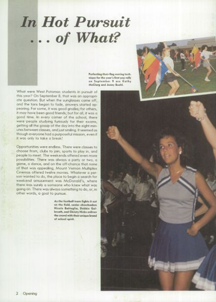 1988 West Potomac High School Yearbook Page 6