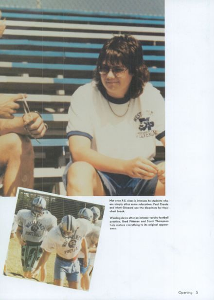 1988 West Potomac High School Yearbook Page 9