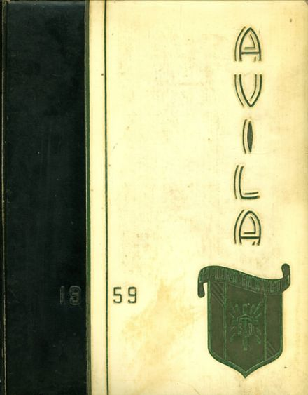1959 St. Teresa's Academy Yearbook Cover