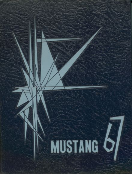 1967 Clio High School Yearbook Cover