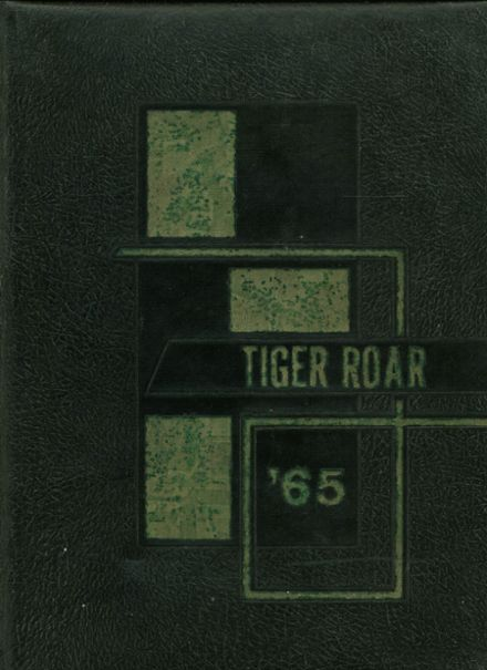 1965 Clay Center High School Yearbook Cover