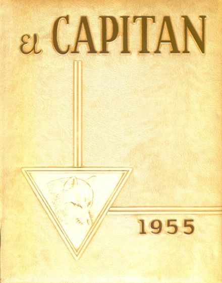 1955 Jefferson High School Yearbook Cover