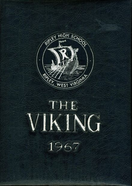 1967 Ripley High School Yearbook Cover