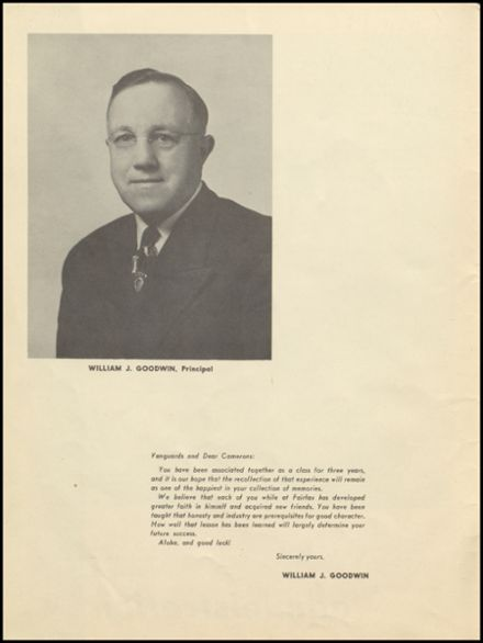 1948 Fairfax High School Yearbook Page 8