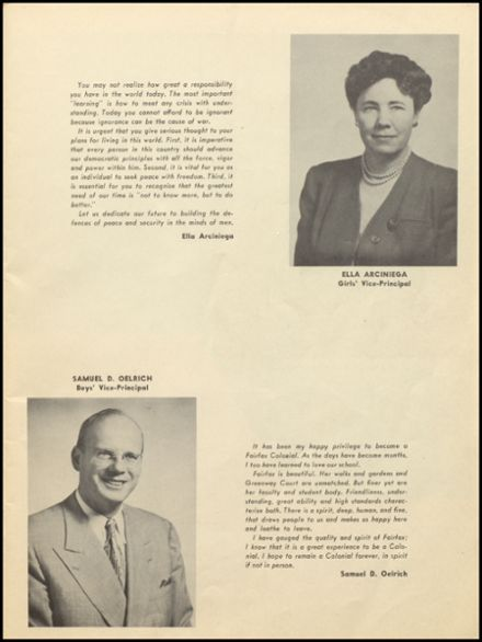 1948 Fairfax High School Yearbook Page 9