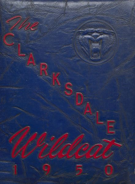 1950 Clarksdale High School Yearbook Cover