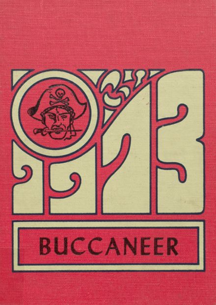 1973 Covington High School Yearbook Cover