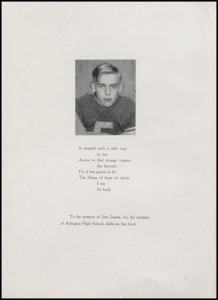 1940 Arlington High School Yearbook Page 8